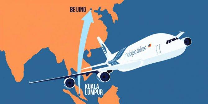 Ilustrasi Malaysia Airlines. (Merdeka)
