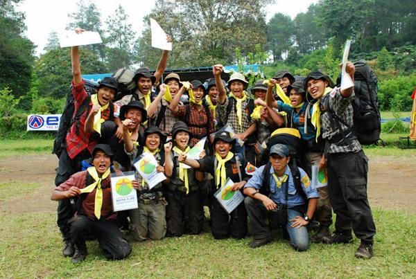 Ekspedisi Mapak Alam ke Gunung Ciremai kabupaten Kuuningan, Jawa Barat. (archie-derany.blogspot)
