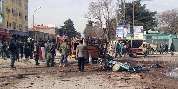 Bom bunuh diri di wilayah Afghanistan Utara. (kompas)