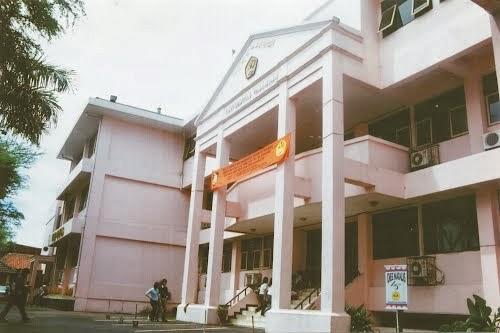 Kampus FISIP dan Hukum Unpas, Jl. Lengkong Besar (forumkomunikasifhunpas.blogspot.com)